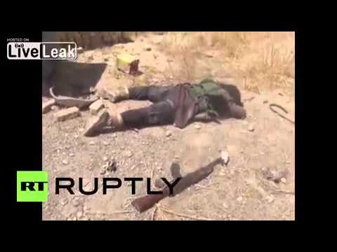 [FUNNY][2016] Iraq: Pro-govt forces reportedly seize strategic city of Baiji *GRAPHIC*