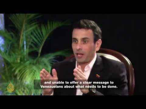 Henrique Capriles: ' I am a democrat '