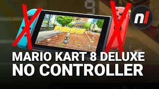 Win Gold in Mario Kart 8 Deluxe Without Touching the Controller | Nintendo Switch