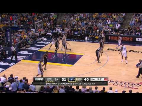 How The Spurs Pick And Roll Is Killing The Grizzlies: 2013 NBA Western Conference Finals