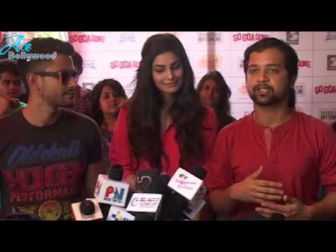 Kunal Khemu Hot Pooja Gupta at promotion of Go Goa Gone