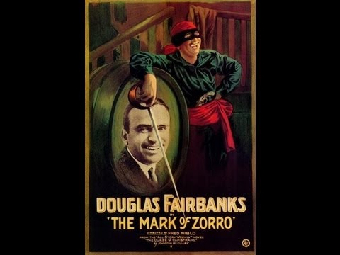 LA MARCA DEL ZORRO (THE MARK OF ZORRO 1920 Full movie V.O. Cinetel...