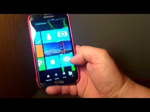 Samsung galaxy note 2 Windows 8 RT