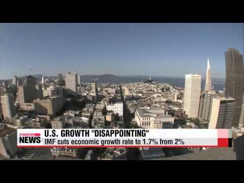 IMF cuts U.S. economic growth rate to 1.7 percent