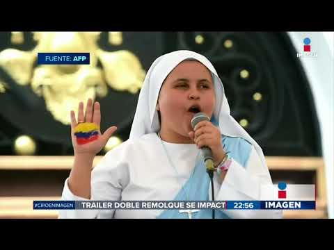 Reciben al Papa Francisco con un RAP | Noticias con Ciro Gómez Leyva