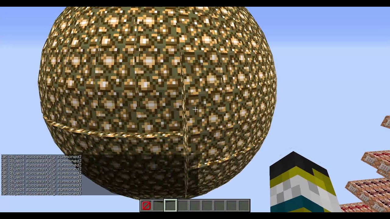 How to Make Spheres in Vanilla