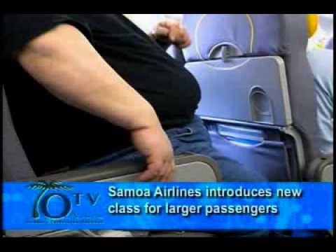 Samoa Airlines introduces new class for larger passengers