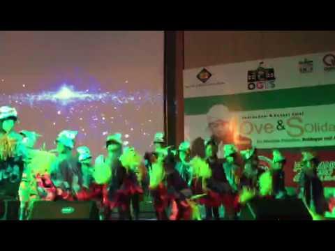 Pentas seni dan konser amal yayasan Albiruni cerdas mulia (tampilan TK lagu