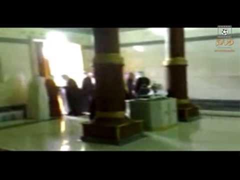 شعور الشيخ نبيل العوضي داخل الكعبة ( تصوير نادر من داخل الكعبة )