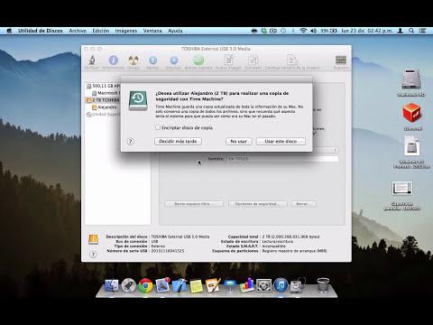 Formatear Disco Duro Externo para que sea compatible/funcione con PC y Mac