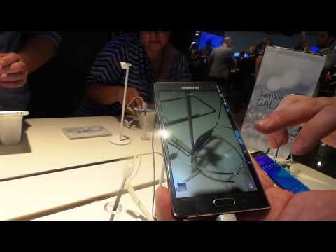 Hands-on: Samsung Galaxy Note Edge
