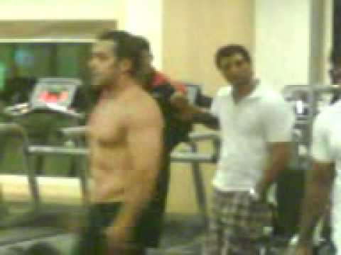 Salman Khan's Unseen Body Building Video During Veer video