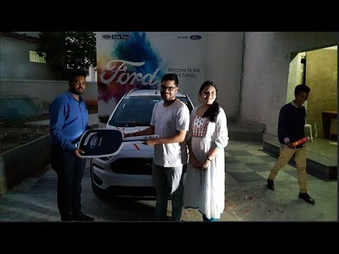 Taking Delivery of Ford Freestyle White in White Dress|Documentation to Celebration Walkthrough