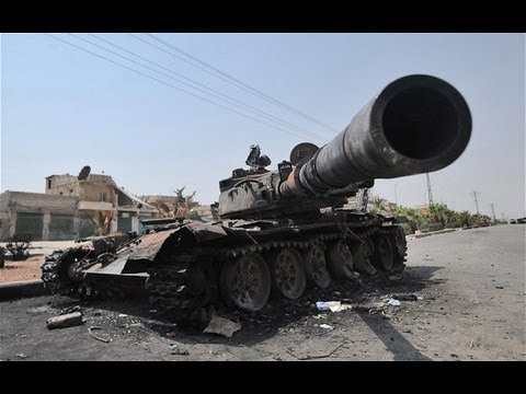 Syria, in 2013. Compilation videos on the subject of tanks. The tanks in the fighting in the city. Syria in 2013. Videos from Syria. Subscribe to my channel ...
