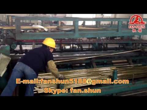 Copper tube manufacturing machinery and equipment