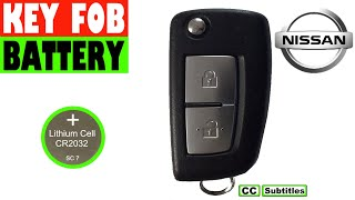 Nissan Key Fob Battery Replacement - How to replace battery in Nissan Key Fob
