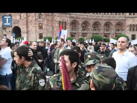 Viravorner Ev Xuchap՝ ՀՀԿ համերգ-հանրահավաքի ժամանակ - Blast in Armenia\
