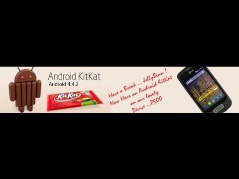LG - P500 Kitkat 4.4.2 ROM (CM-11)