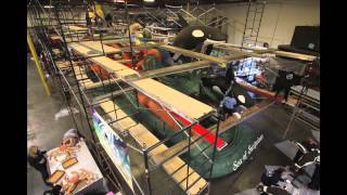 SeaWorld - Rose Parade Float Time Lapse