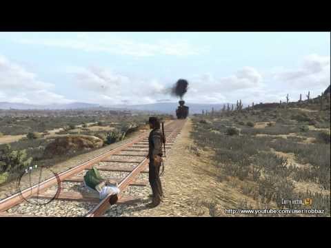 Red Dead Redemption: Women, Lasso and Trains.