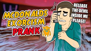 McDonalds Excorcism Prank - Ownage Pranks