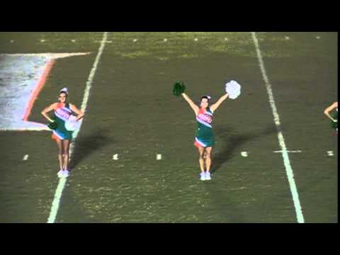Hooper Academy Varsity Cheerleaders perform Party Rock 2014