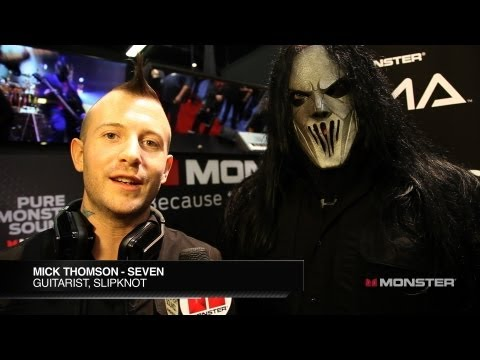 "NAMM 13: Slipknot's Mick Thomson ""Seven"" on Touring and Wardrobe Malfunctions"