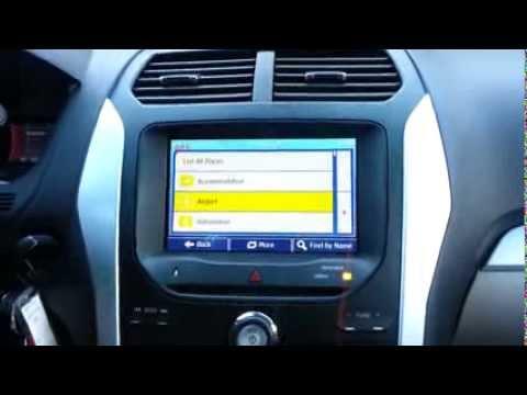 2014 GPS NAVIGATION DVD SYSTEM FORD EXPLORER - YouTube