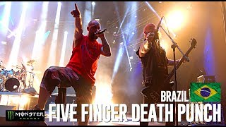 Five Finger Death Punch in Sao Paolo - BRAZIL