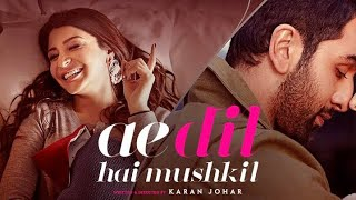 Ae Dil Hai Mushkil  Club Remix Audio  Sajid Sultan