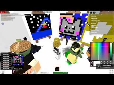 Imagination- ROBLOX. Nyan cats attack. :D