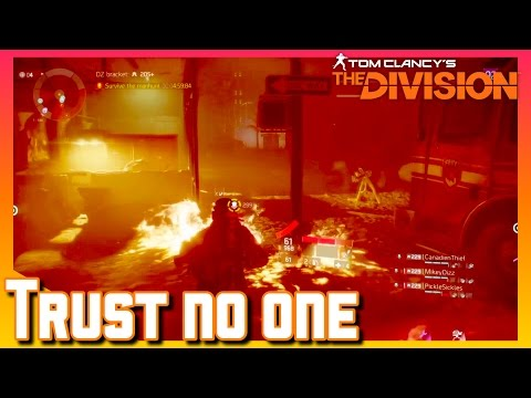 The Division | Trust No One | Dark Zone PvP Highlights | The Division Gameplay (PS4)