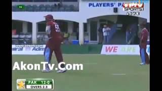 Pakistan vs West Indies Full Match Highlights - 2nd t20 - Pak batting - 28 july 2013