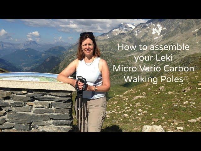 How to assemble your Leki Micro Vario Walking Poles