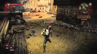 The Witcher 2 (Xbox 360): Real In-Game Footage