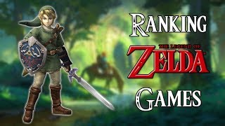 Ranking The Legend of Zelda Games (All Main Series Games)
