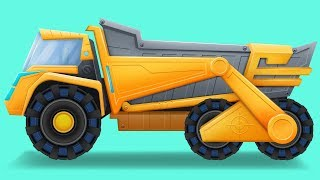 Dump Truck | Formation and Uses Video for kids