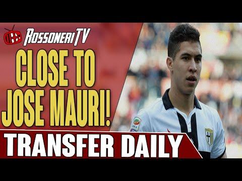 Close To Jose Mauri! | AC Milan Transfer Daily | Rossoneri TV