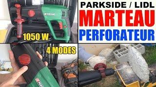 marteau perforateur burineur parkside pbh 1050w lidl hammer drill bohr- und meisselhammer