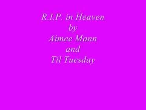 Aimee Mann - Rip In Heaven