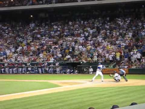 Texas Ranger's Marlon Byrd's Walk Off GRAND SLAM against the Yankees