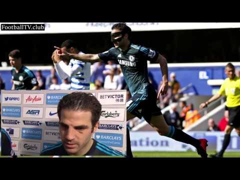 QPR vs Chelsea 0-1 Cesc Fàbregas and Didier Drogba post-match interview