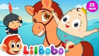 Humpty Dumpty Kids Song - Little BoBo Nursery Rhymes | Popular Children Poems