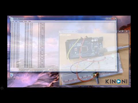 Labview arduino - adquisicion y registro de datos