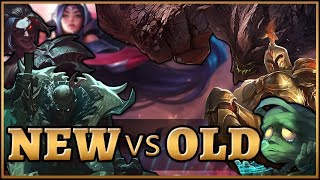New Champions vs The OLD! Which is stronger?