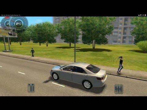 City Car Driving Toyota Camry HD