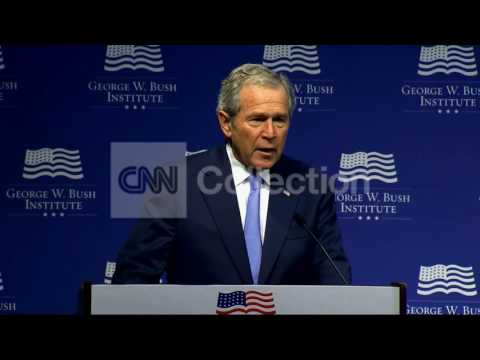FILE:GEORGE W BUSH- BACK INTO IMMIGRATION DEBATE