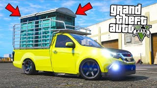 Porta Potty Delivery... What can possibly go wrong?! (GTA 5 Mods - Evade Gameplay)