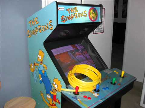 The Simpsons Arcade Machine