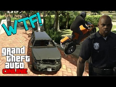 Limo Service, Mean Cops & MOTORBIKE FTW! (GTA Online)